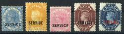 6010: Sri Lanka - Official stamps