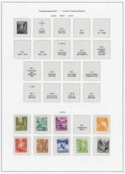5665: Schweiz Dienstmarken für Bundesbehörden - Sammlungen