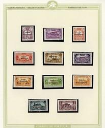 1660: Alexandrette - Sammlungen