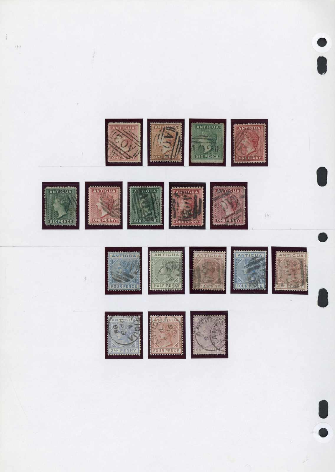 Lot 2730 - COLLECTIONS & ACCUMULATIONS Antigua & Antigua Barbuda -  Auktionshaus Schlegel 26 Public Auction