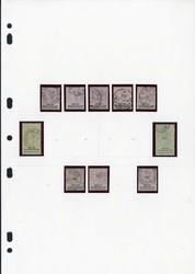 1885: Betschuanaland - Sammlungen