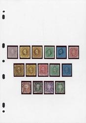 4315: Malaiische Staaten Sarawak - Sammlungen