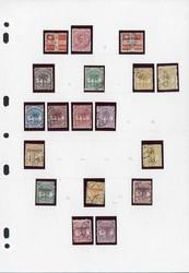 7144: Sammlungen und Posten Britisch Commonwealth Oceanien