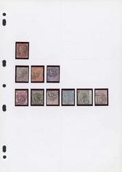 2911: Großbritannien Auslandspostämter - Sammlungen