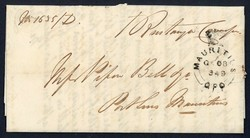 4410: Mauritius - Briefe Posten