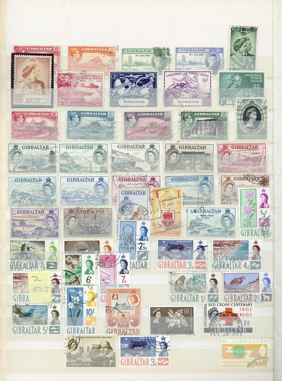Lot 2326 - COLLECTIONS & ACCUMULATIONS Gibraltar -  Auktionshaus Schlegel 26 Public Auction