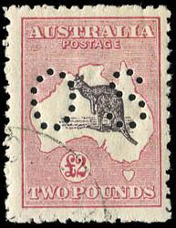1750: Australien - Dienstmarken