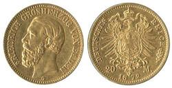 8070: Münzen Deutsches Reich - Reichsgoldmünzen