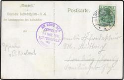 981000: Zeppelin, Zeppelinpost vor WW-I,