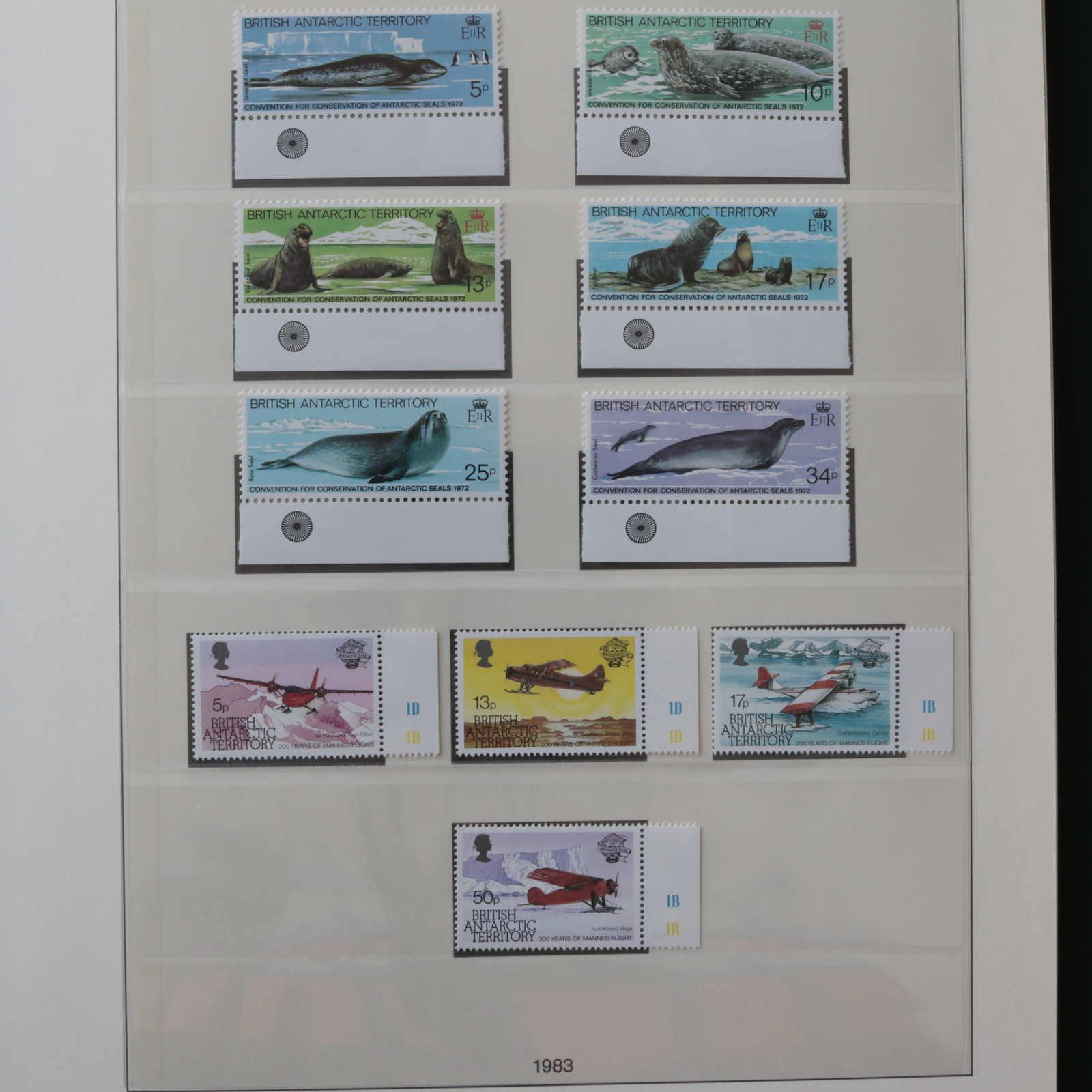 Lot 848 - Collections Louis Nicollin british antarctic territory -  Auktionshaus Schlegel 26 Public Auction