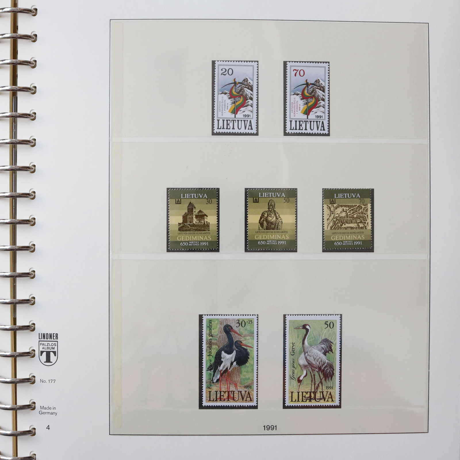 Lot 769 - Collections Louis Nicollin Lithuania -  Auktionshaus Schlegel 26 Public Auction