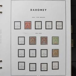 2390: Dahomey - Sammlungen