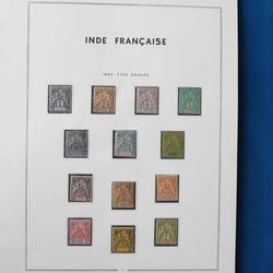 2700: Französisch Indien - Sammlungen