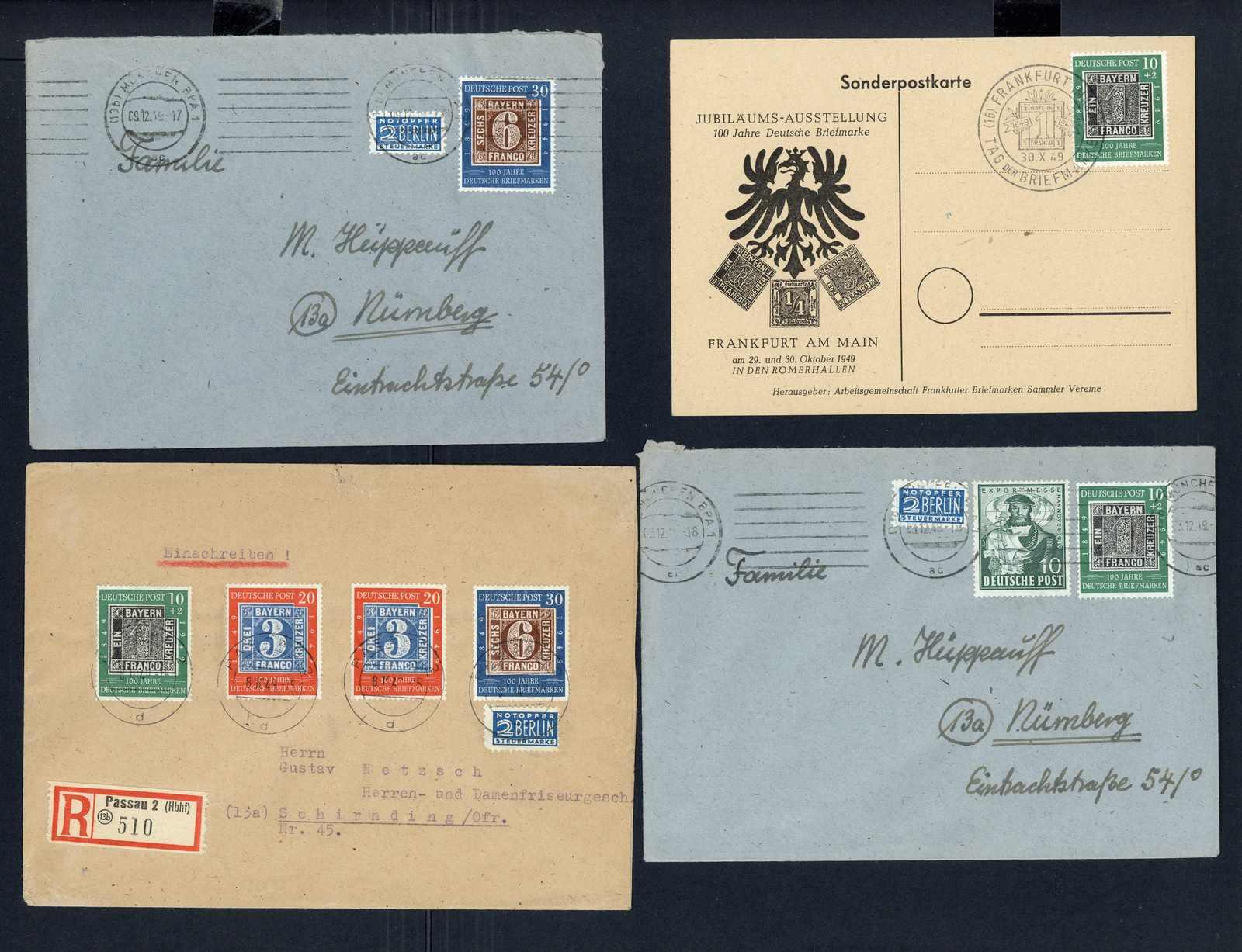Lot 2056 - COLLECTIONS & ACCUMULATIONS bundesrepublik deutschland -  Auktionshaus Schlegel 26 Public Auction
