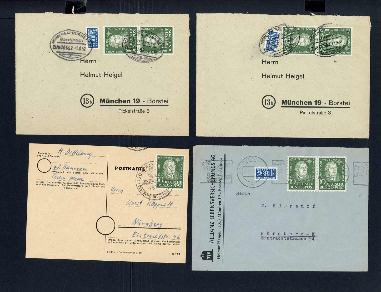 Lot 2085 - COLLECTIONS & ACCUMULATIONS bundesrepublik deutschland -  Auktionshaus Schlegel 26 Public Auction