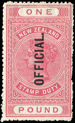 4565: New Zealand - Official stamps