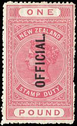 4565: Neuseeland - Dienstmarken