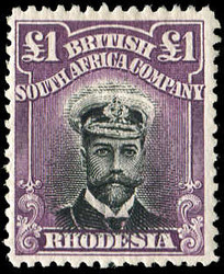 1990: British South Africa Company