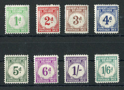 2795: Gilbert and Ellice Islands - Postage due stamps
