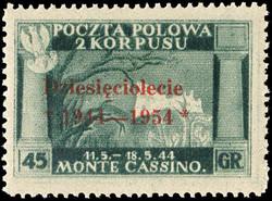 5249: Poland 2nd Polish Corps in Italy (Corpo Polacco) - Specialties