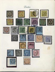 10: Old German States Baden - Collections