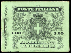 3415: Italy - Stamp booklets