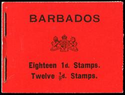 1790: Barbados - Markenheftchen