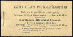 6535: Hungary - Stamp booklets