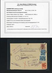 1370140: SBZ Handstempel Bezirk 36 - Briefe Posten