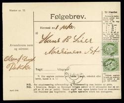 4710: Norwegen - Briefe Posten