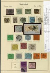 3360: Italien Staaten Kirchenstaat - Sammlungen