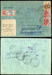 1359: Berlin Vorläufer - Briefe Posten