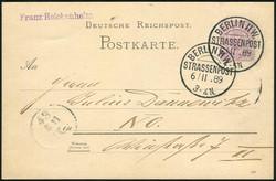 105: Berliner Postgeschichte - Stempel