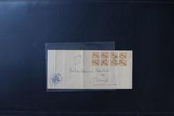 4635: Niederländisch Indien - Dienstmarken