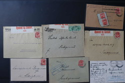 185: German Southwest Africa - Covers bulk lot