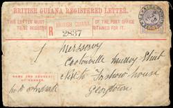 2950: British Guiana - Postal stationery