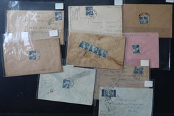 3675: Japanese Occupation Trengganu - Covers bulk lot