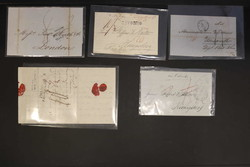 7700: Sammlungen und Posten Vorphilatelie