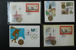 8499: Sammlungen Posten Banknoten Numisbriefe