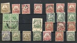 7012: Sammlungen und Posten Dt. Kolonien u. Auslandspostämter