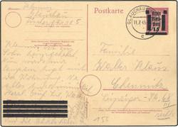 930: Deutsche Lokalausgabe Glauchau - Ganzsachen