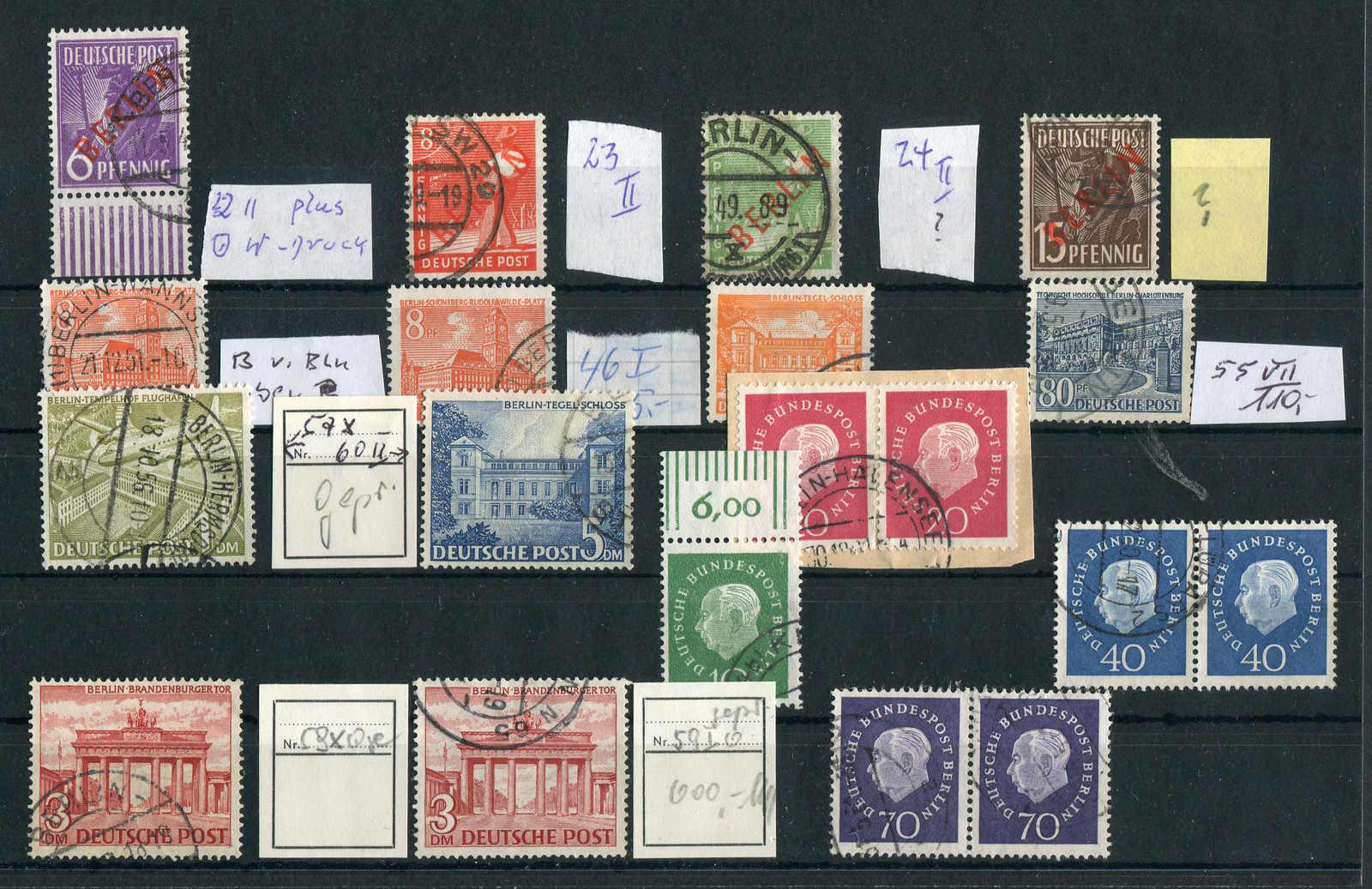 Briefmarken Nett Berlin 1949 Postfrisch Minr 60 Geprüft Schlegel Freimarken Tegeler Schloss