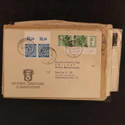1370090: SBZ Handstempel Bezirk 16 - Sammlungen
