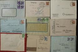 1370090: SBZ Handstempel Bezirk 16 - Briefe Posten