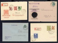 1370200: SBZ Handstempel versch. Bezirke - Briefe Posten