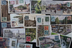 7910: Sammlungen und Posten Ansichtskarten Europa