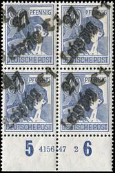 1370110: SBZ Handstempel Bezirk 27 - Sammlungen