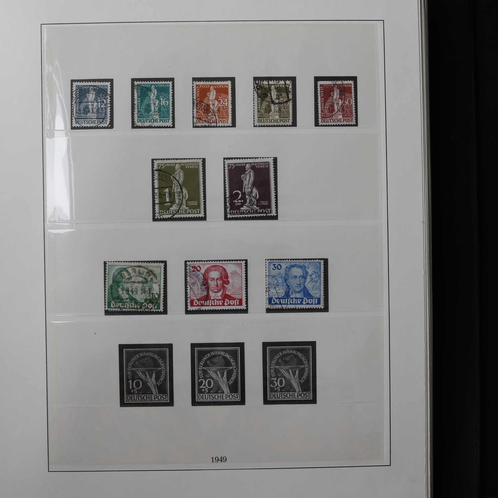 Briefmarken Motive Nett Berlin 1949 Postfrisch Minr 60 Geprüft Schlegel Freimarken Tegeler Schloss