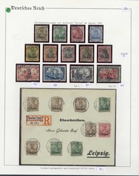 150: German Post China - Collections