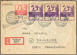 900: Deutsche Lokalausgabe Frankenau